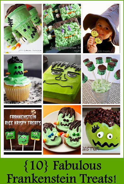 10 fabulous frankenstein treat ideas