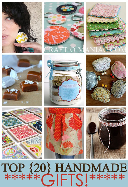 top 20 handmade gift ideas