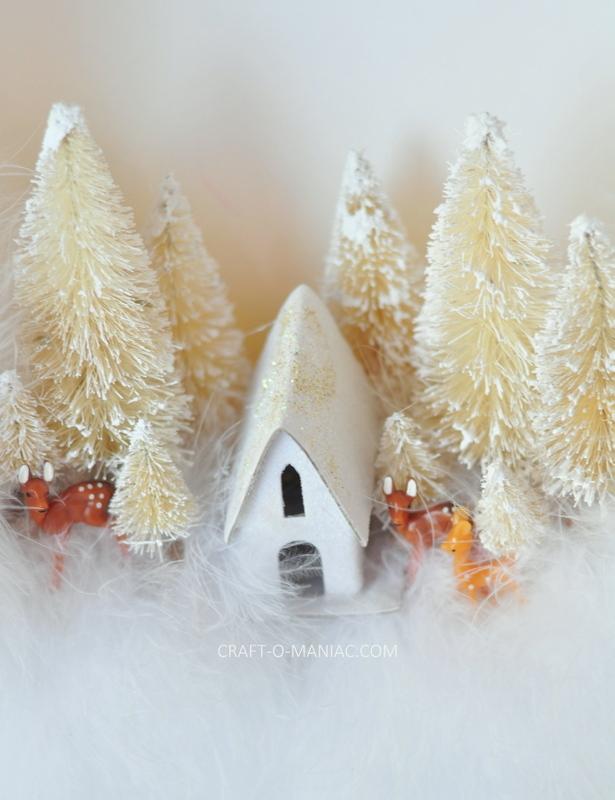 diy feather boa winter wonderland wreath5