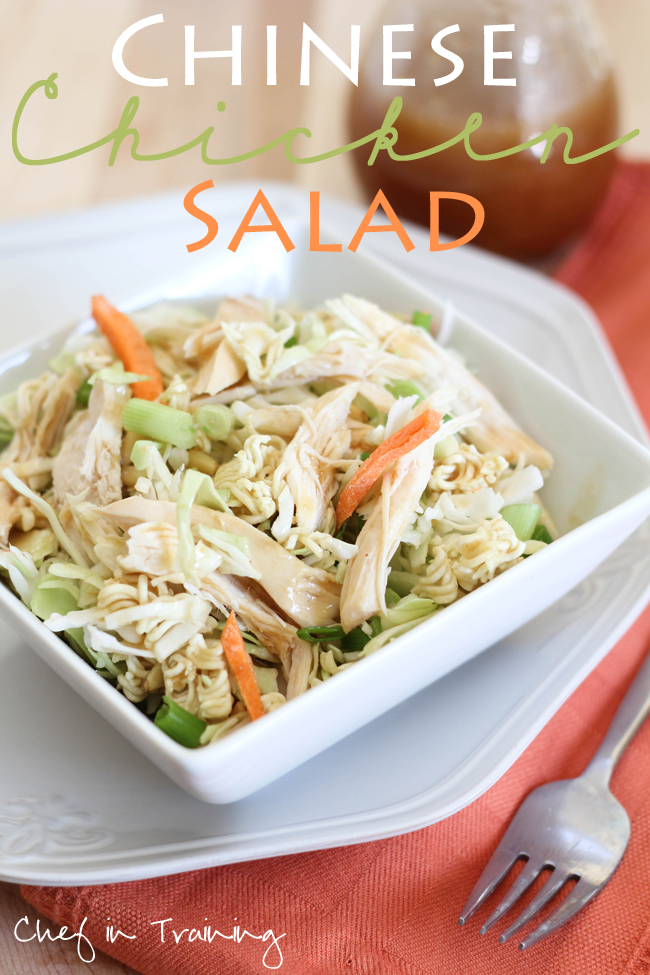 salad hinese chicken
