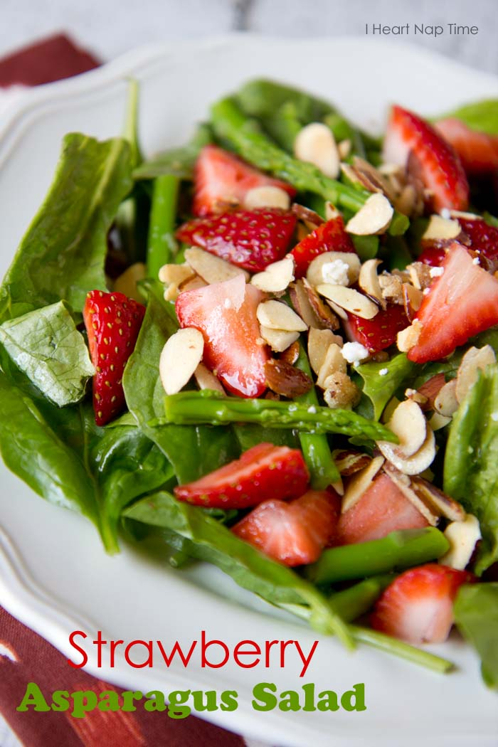 salad strawberry asparagus
