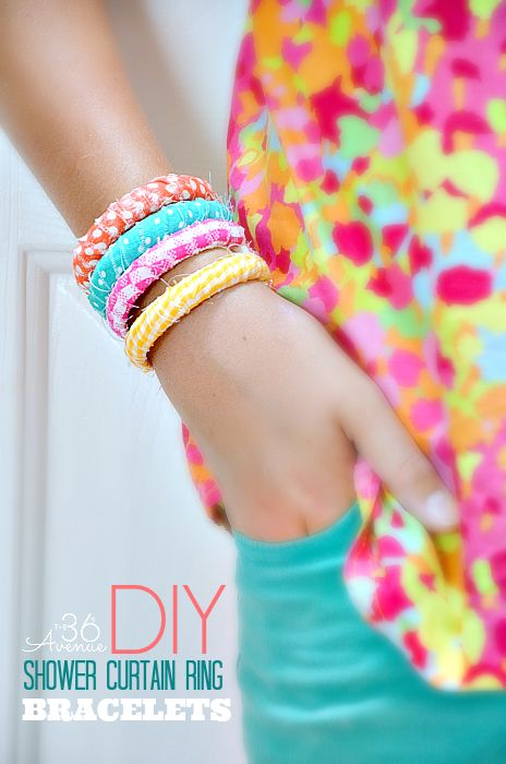 snowed in actvities fabric bracelets