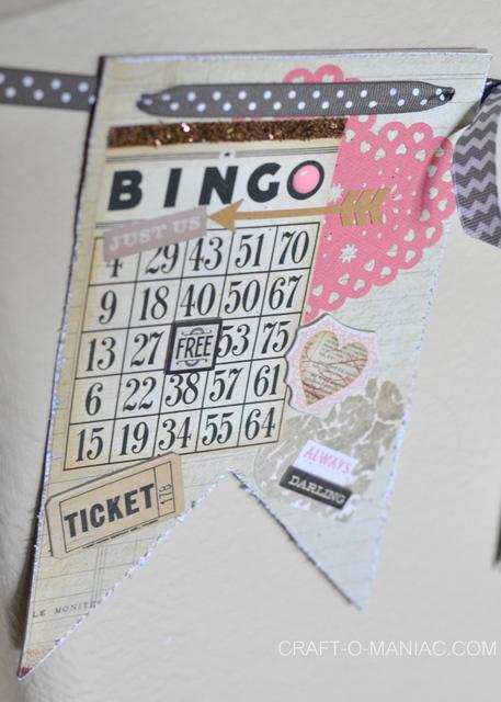 valentine pennant bingo