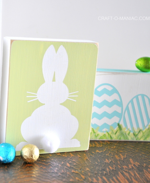 bunny and egg blocks lighter