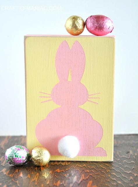 bunny block pink