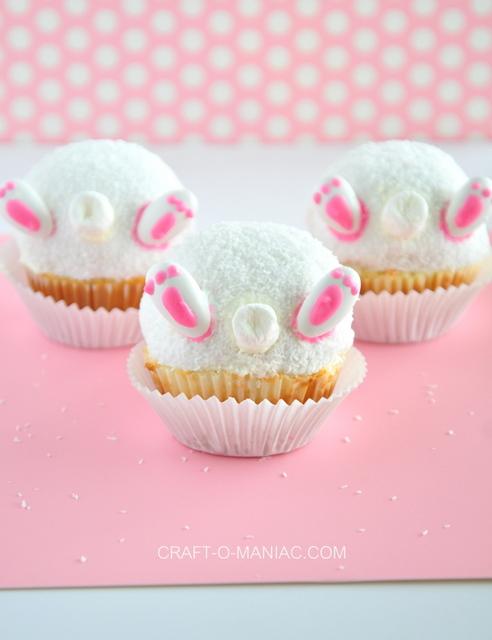 bunny bum cupcakes love