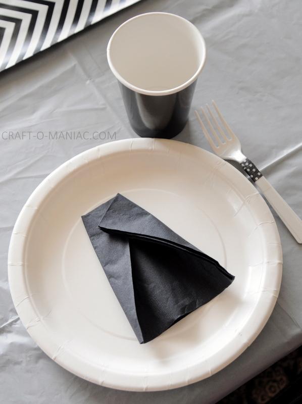 darth vader napkin