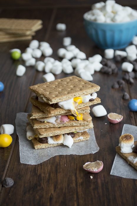 easter treats Peanut-Butter-Egg-Smores-3