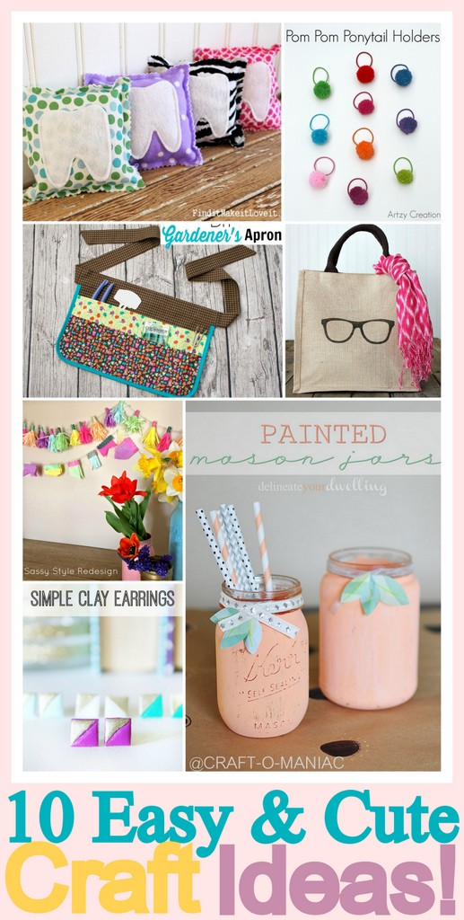 easy craft collage