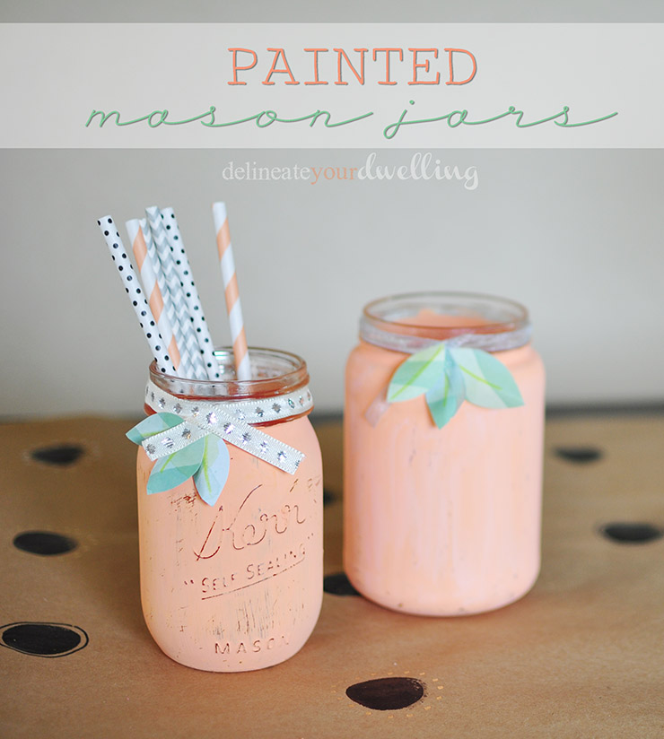 simple crafts 1a painted jars
