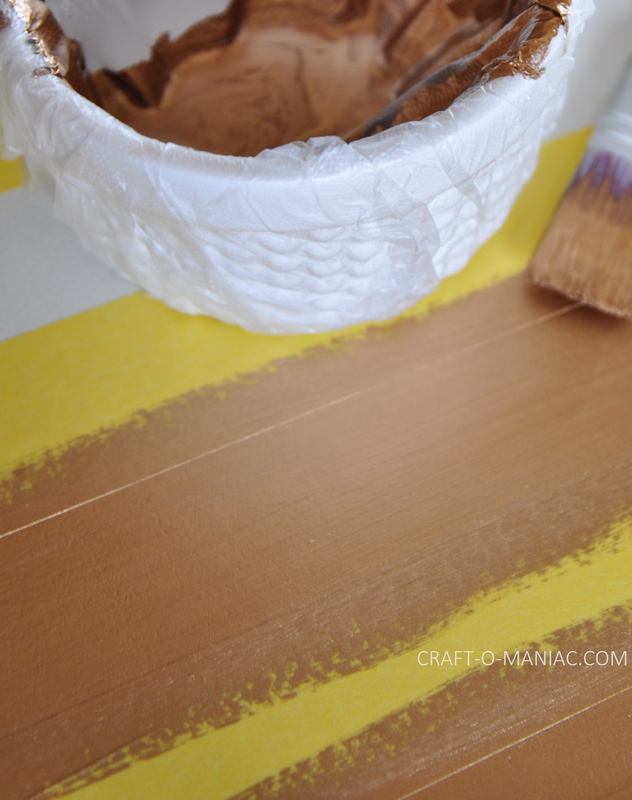 white end tables paint strokes