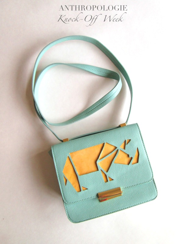 creative collection Rhino Cut-out Purse