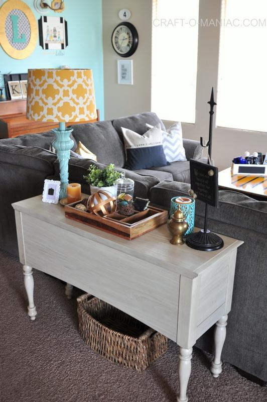 family room sofa table
