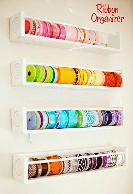 organized craft ribbon
