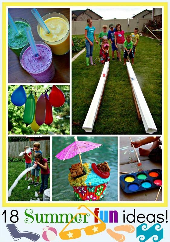 18 summer fun ideas for kids