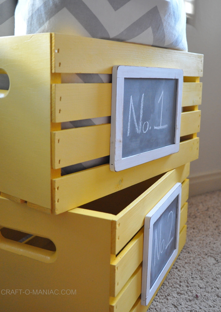 diy  painted and chalkboard embellished crates 3-001