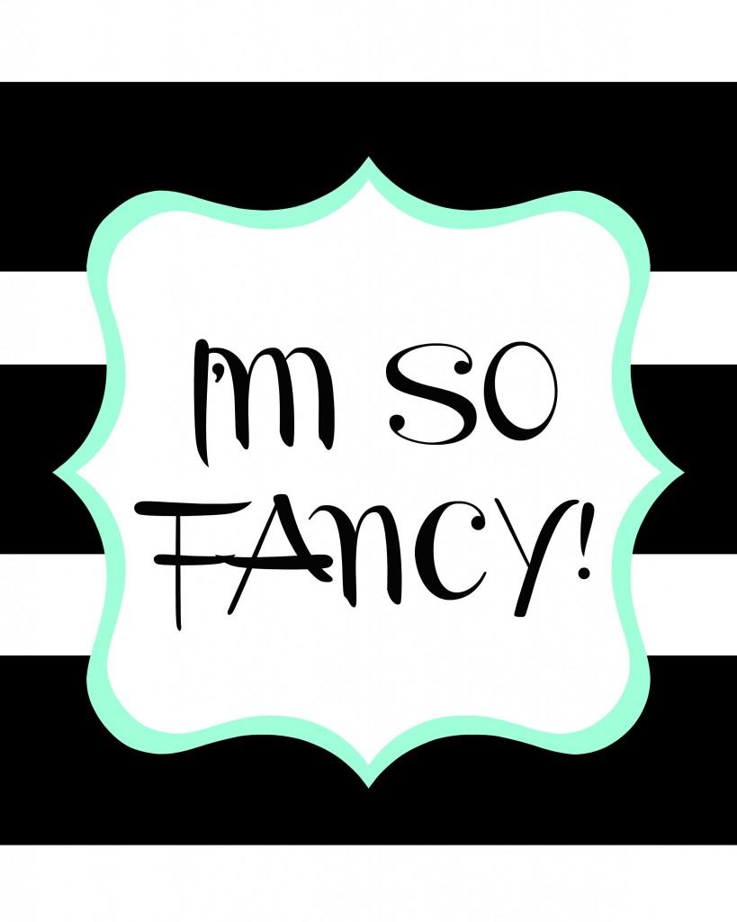 im so fancy big strip and mint