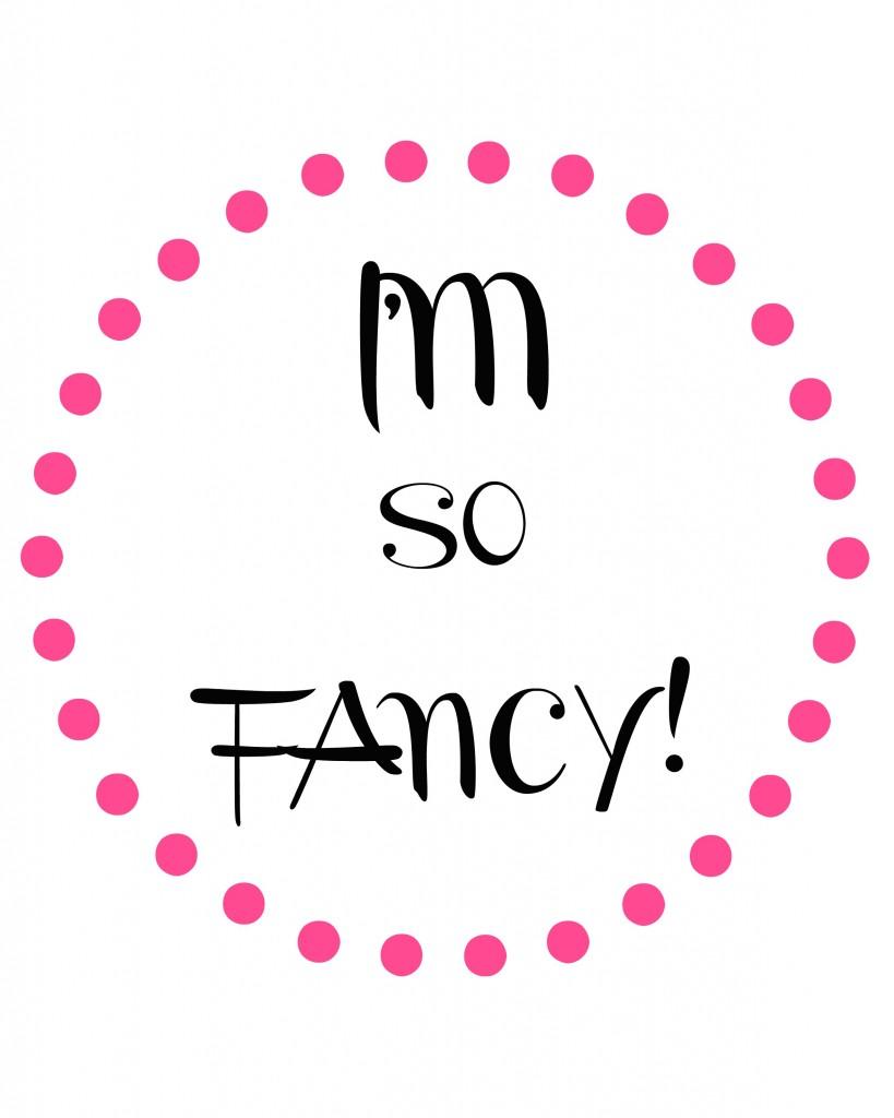 im so fancy dot circle pink