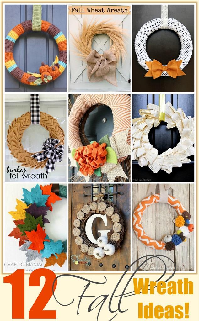 12 Fall wreath ideas text-001