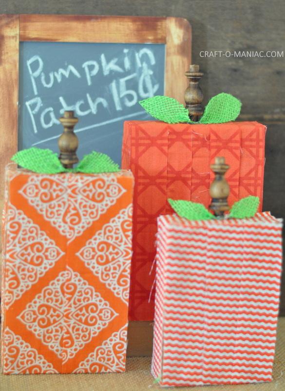 fabric scrap wood pumpkins10-001