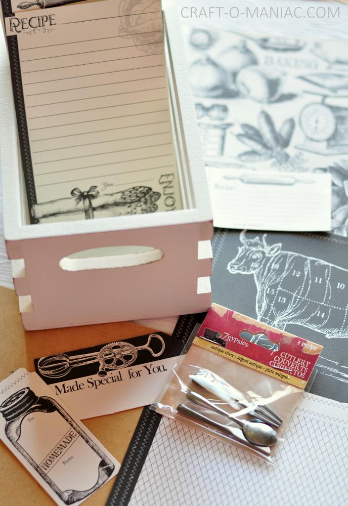 recipe box items