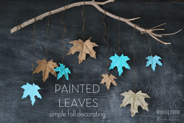 the creative collection painted leaves
