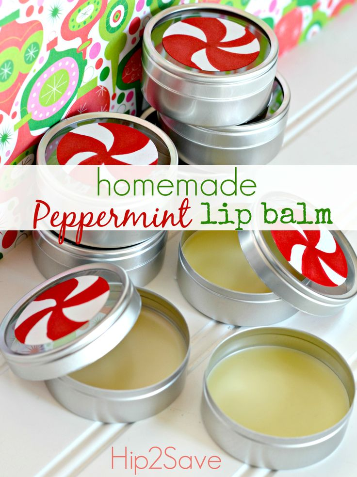 christmas gifts peppermint lip balm larger