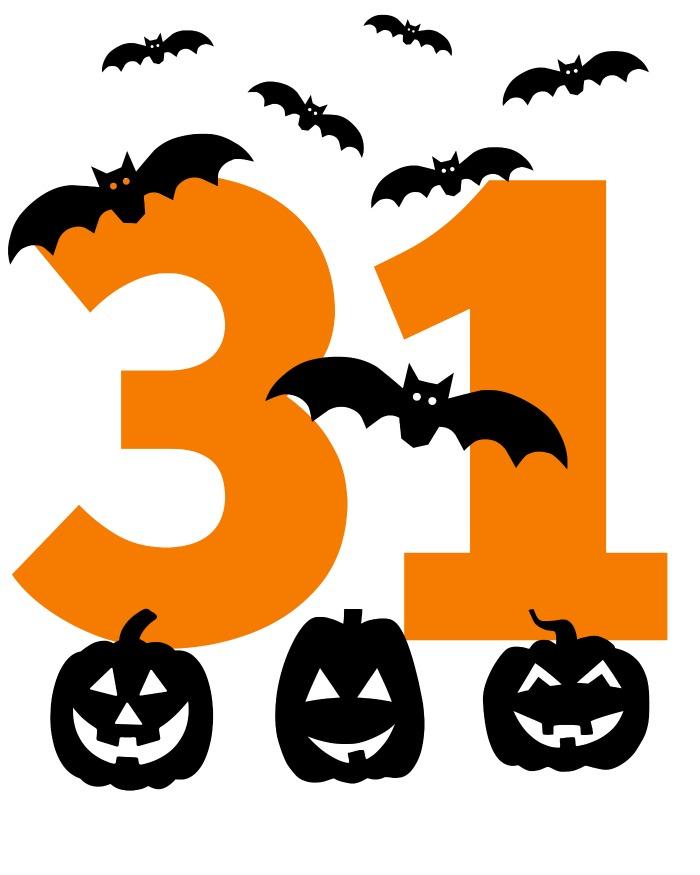 halloween printable bats