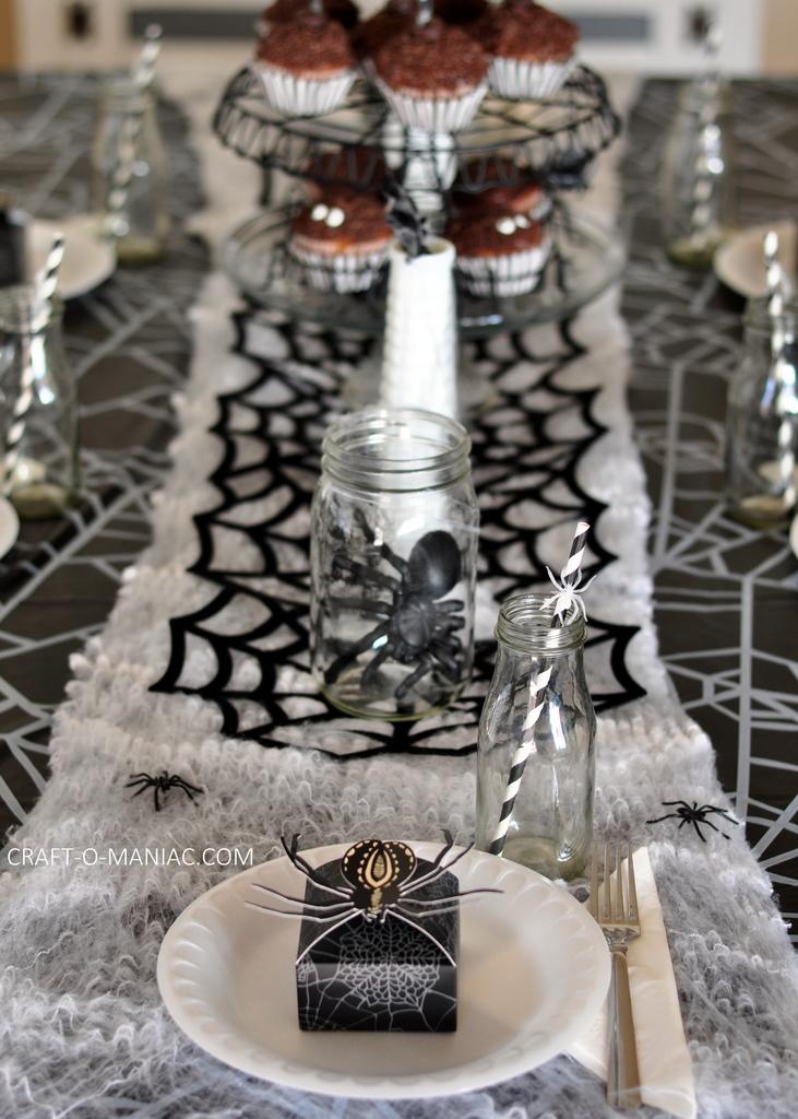 spooktacular spider Halloween party6
