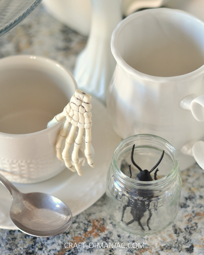witches tea hutch dishes