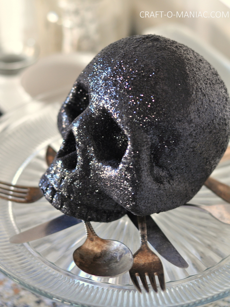 witches tea skull