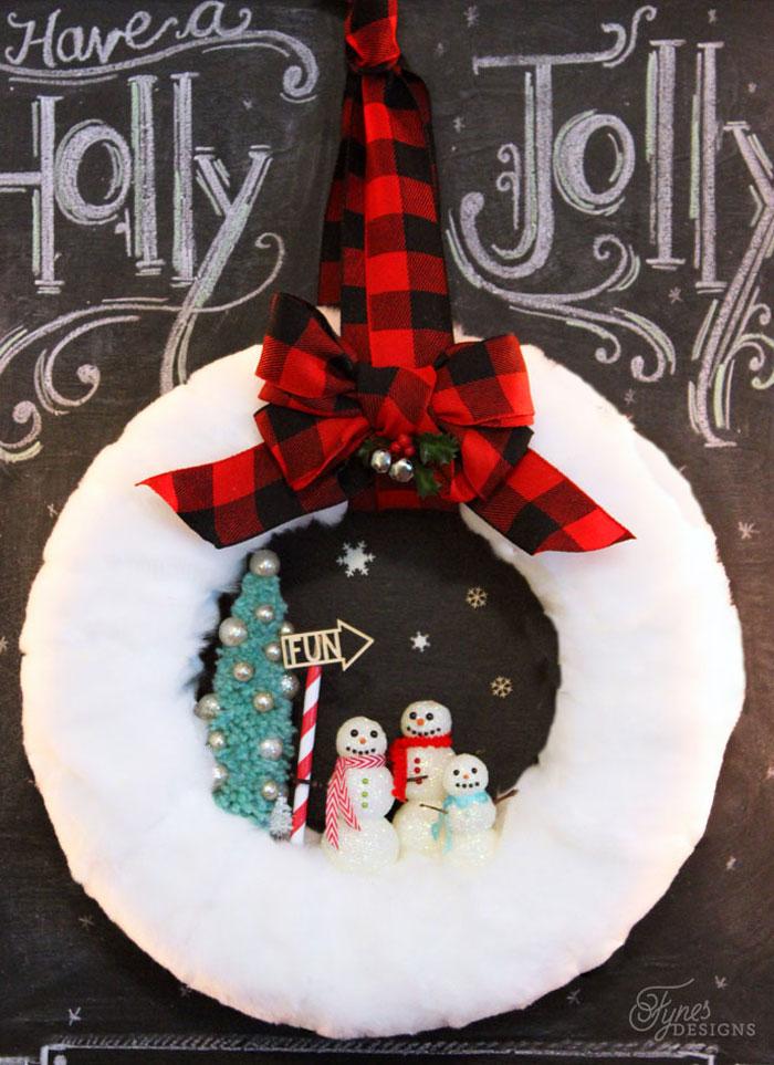 cc glittery-snowman-wreath