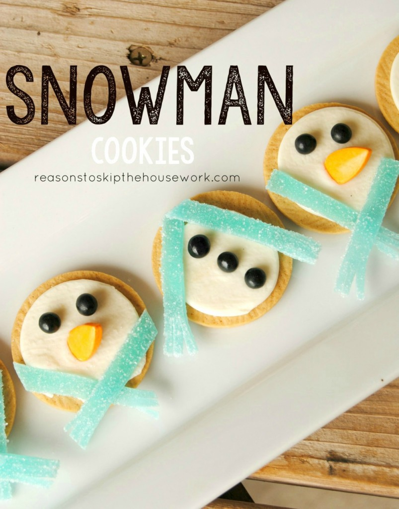 cc snowmen cookies