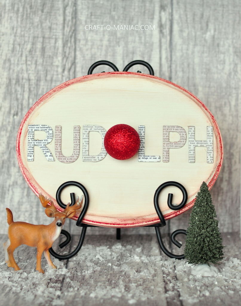 diy rudolph word sign2
