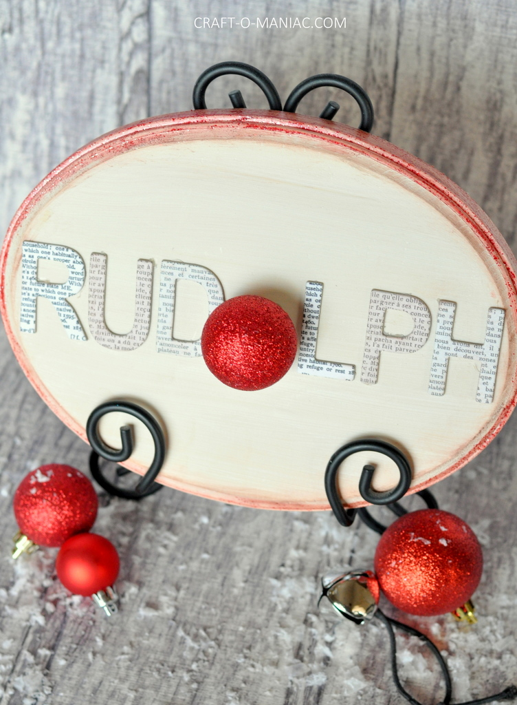 diy rudolph word sign6