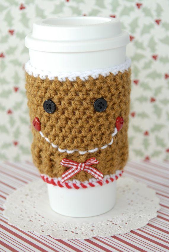 gingerbread cofee cozy
