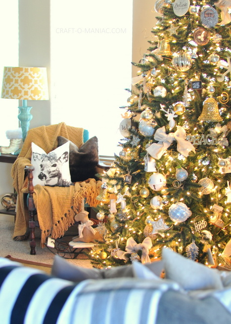 silver and gold christmas tree1