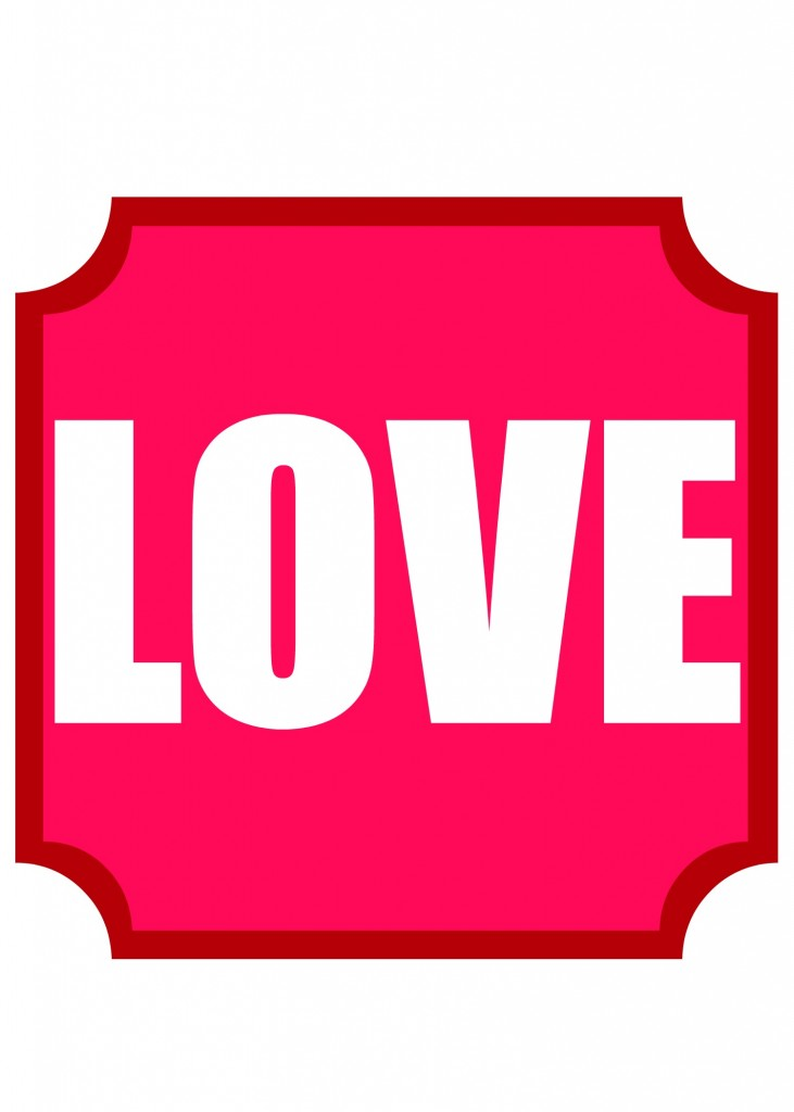 love printable 1