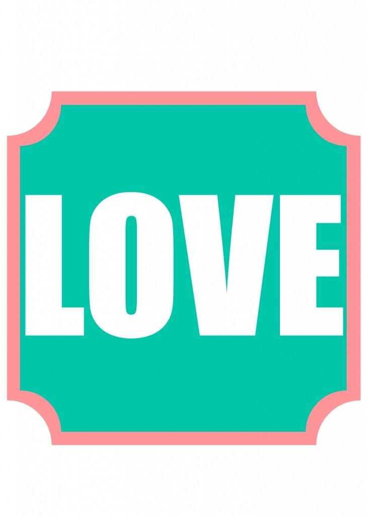 love printable 3