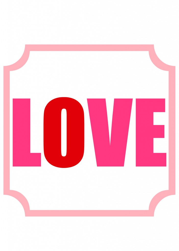 love printable multi2