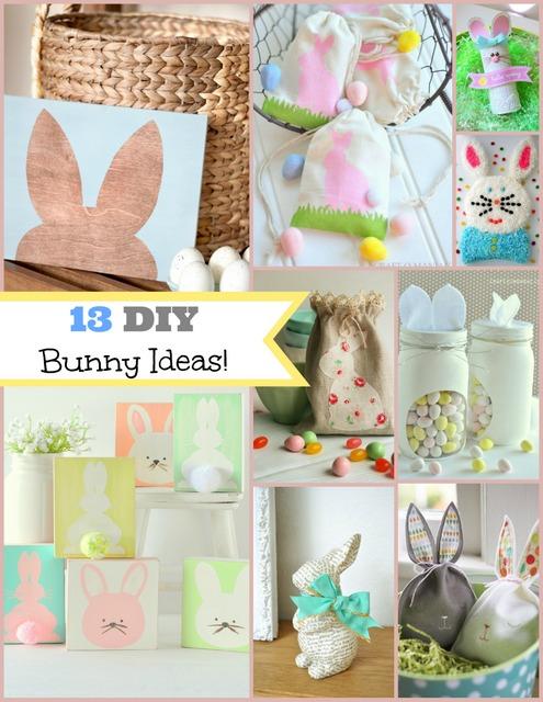DIY 13 Easter Bunny Ideas pm