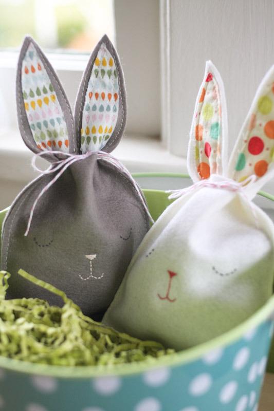 Easter bunny crafts sleepy bunnies