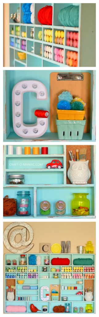 craft cubby long collage