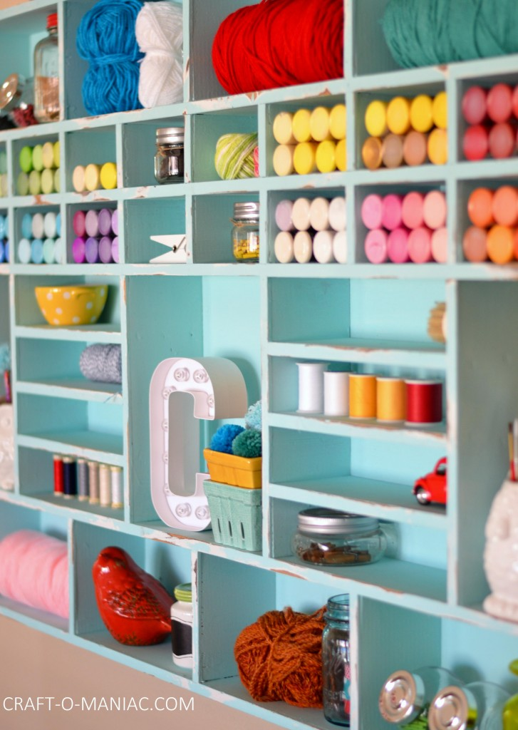 craft wall cubby