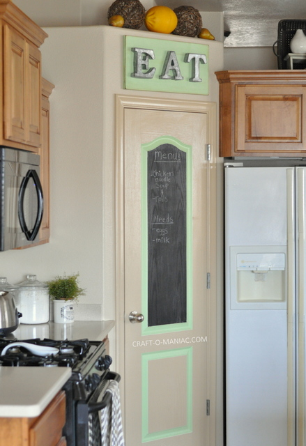 diy rustic pantry door8