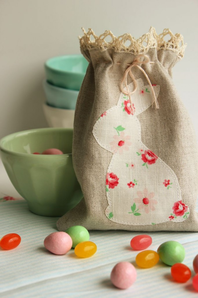 easter bunny crafts bunny bags
