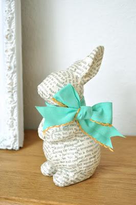easter bunny crafts bunny decopage