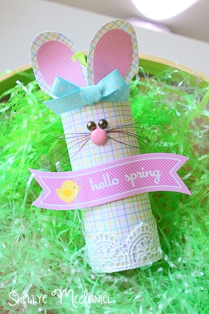 easter crafts toilet paper bunny