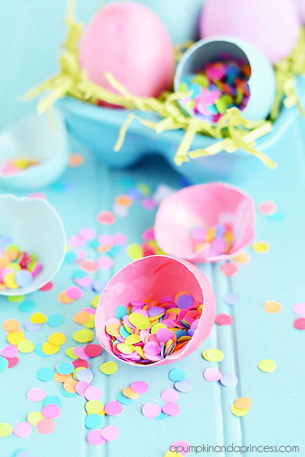 link party How-to-make-confetti-eggs
