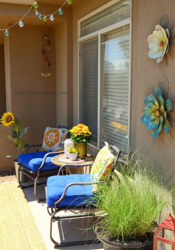 bright colorful porch decor16